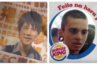 KFC Hong Kong campaign draws comparisons to Burger King work from Brazil