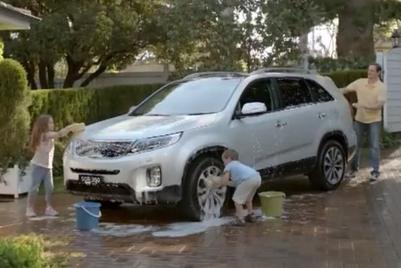Kia Australia uses 'fathertism' to launch Next Gen Sorento