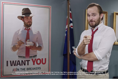 Kit Kat founds break-oriented 'political party' in Australia