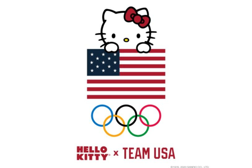 Making her Olympic debut: Hello Kitty