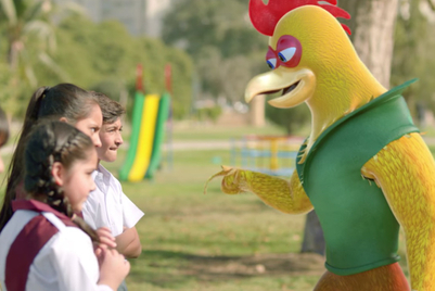 Unilever's Knorr mascots educate kids on stranger danger