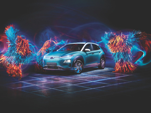 Hyundai's twerking brush-creatures get electrified