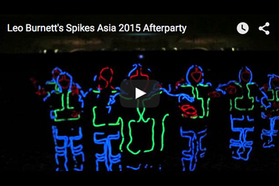 Watch: Leo Burnett's Spikes 2015 afterparty