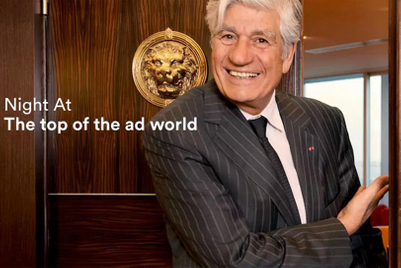 Movers clear out Maurice Lévy's office