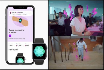 Singapore gov and Apple ask citizens to 'level up' on health