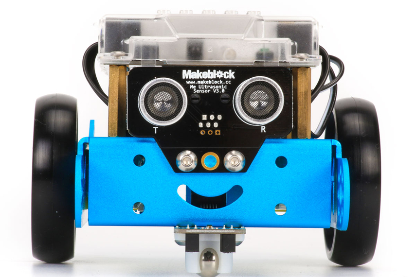 Making coding fun… the mBot teaches children how to code by customising its robot abilities