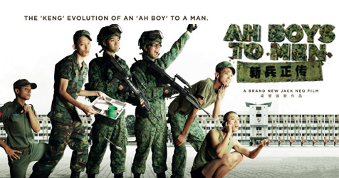 "Singaporean superbrand ""Ah Boys To Men"" makes the army sexy"
