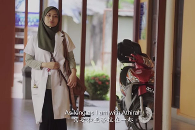 Malaysia Airlines presents long-form video of long-distance love
