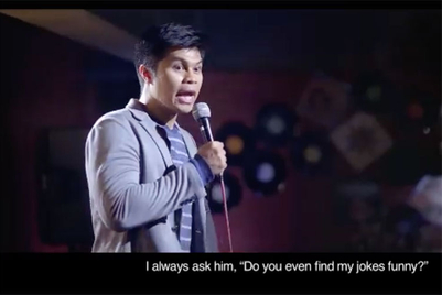 Manulife Philippines scores viral hit with video about young comedian