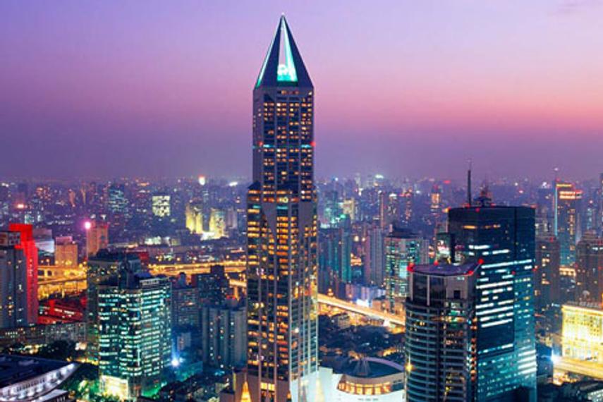 A Marriott in Shanghai