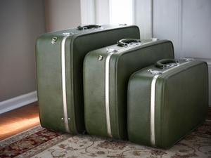 Time to bring back the matching luggage?