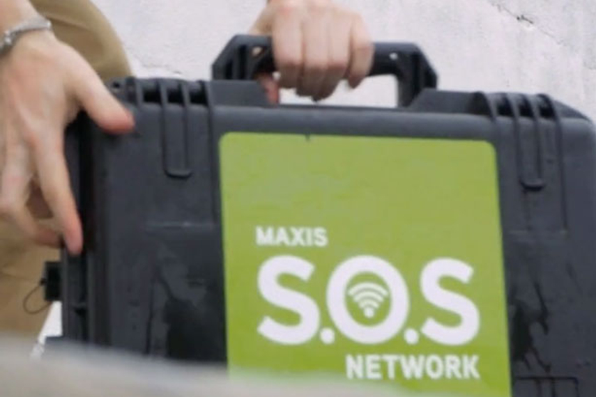 Mobile telco creates 'SOS' network for emergency situations