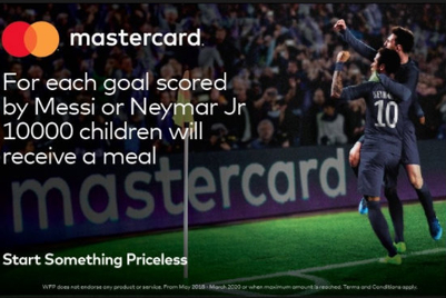 'The hunger games': Mastercard under fire for 'goals for meals' campaign
