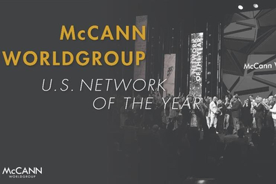 Global Creative Network of the Year: McCann Worldgroup (US)