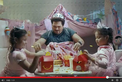 'Fairy dads' make the most of McDelivery in the Philippines