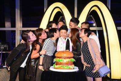 麦当劳香港#imlovinit24活动:神秘派对惊喜来袭