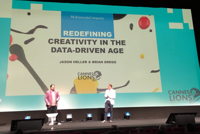 The prize for integrating data and creativity: 2X better revenue growth