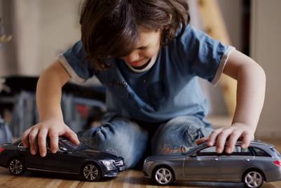 Mercedes' uncrashable cars annoy kids, delight adults