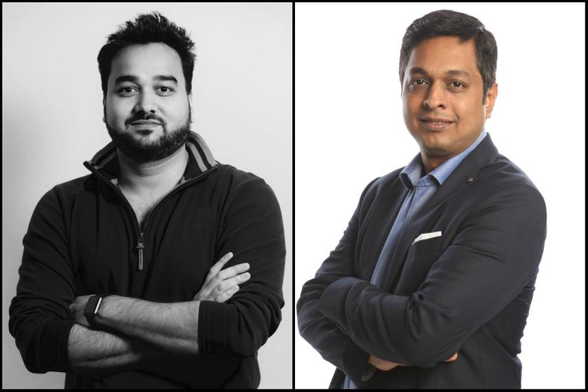 L-R: Abhishek Gupta, Sudesh Puthran