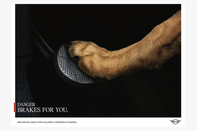 Road hazards apply the brakes for you in Mini campaign