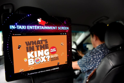 New taxi screens make ad-watching all but mandatory