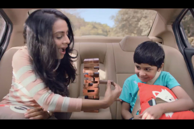 Jenga in a moving car? Please.