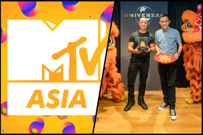 Universal Music Group and Viacom invest in Asia