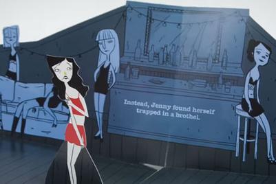 Storybook tells horrific stories of human trafficking