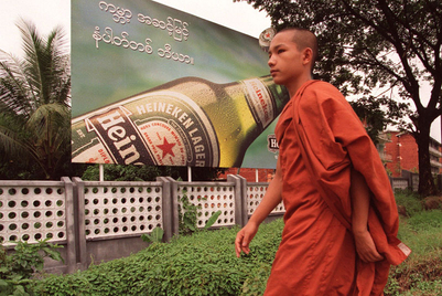 Beer firms vie for a piece of Myanmar