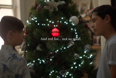 2019 Cannes contenders: 'Naughty or Nice Bauble' by Clemenger BBDO Melbourne