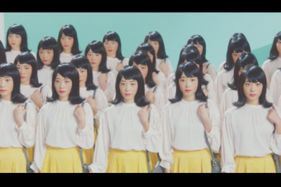 NEC's 'Same face girls' video is accurately named, disturbing
