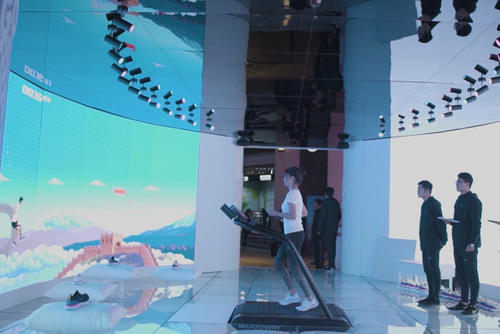 Nike transports shoe shoppers into a bouncy adventure game