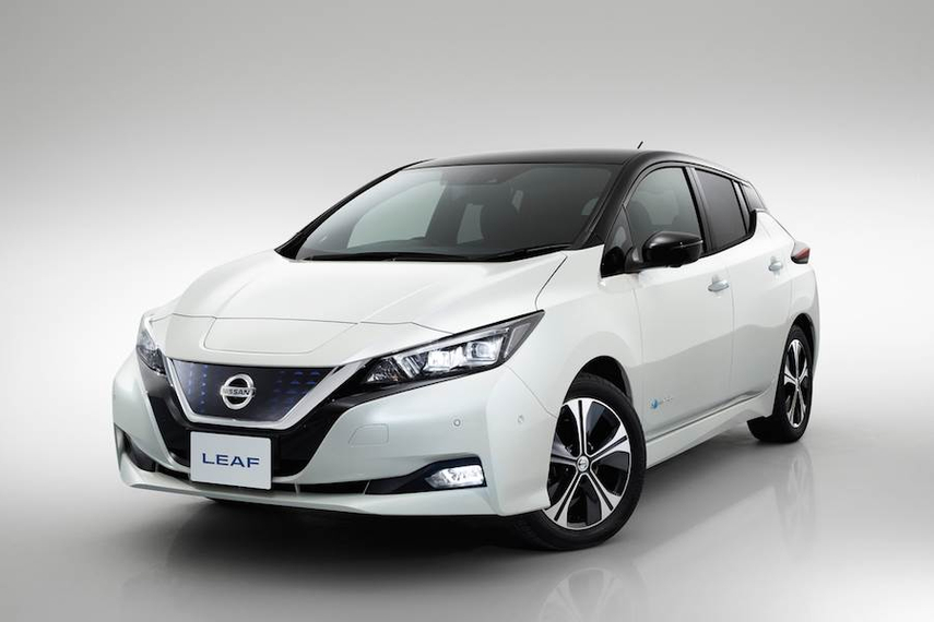 The Leaf, Nissan's first fully electric vehicle