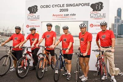 The PR Element wins PR duties for OCBC Cycle in Singapore
