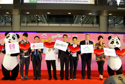 Ocean Park makes multicultural matches to promote Hong Kong with speed dating