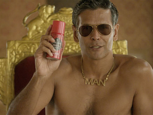 Old Spice asks India to 'Smell Mantastic'