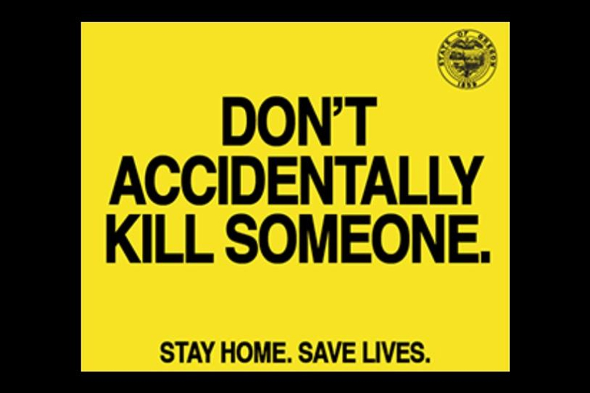 'Don't accidentally kill someone': W+K puts 'social distancing' in plainer terms