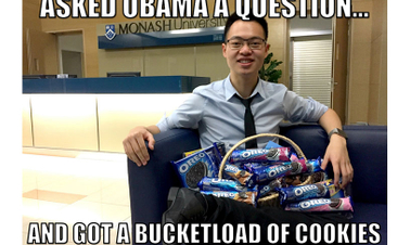 Oreo gives Alphaeus Tan a well-deserved cookie