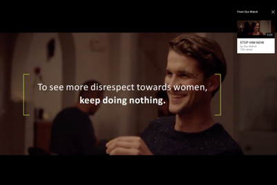 Brilliant anti-sexism campaign weaponises retargeting