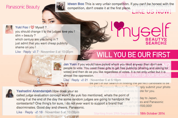 Faced with a social media crisis, Panasonic Beauty Malaysia cancels everything
