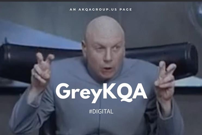 Parody 'GreyKQA' website makes fun of AKQA-Grey merger