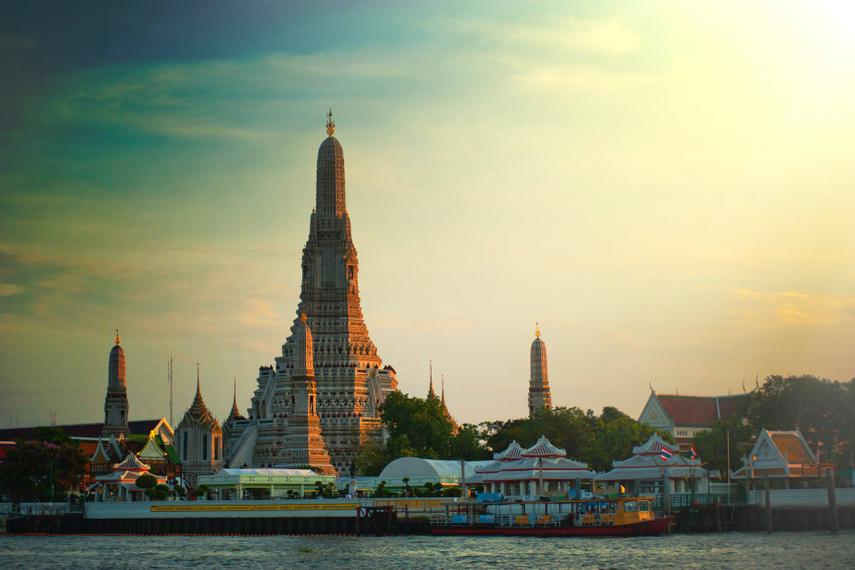 Wat Arun in Bangkok.