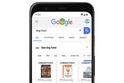 Google launches curbside pickup option for local inventory ads