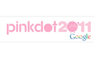 Google Singapore supports Pink Dot 2011