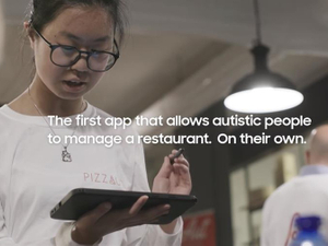 Samsung project helps people with autism run a restaurant independently