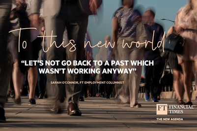 'Everything is at stake': Financial Times calls on public to rise to the challenges of our time in new campaign
