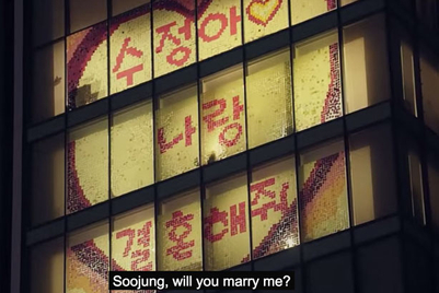 Romantic stationery: A Post-it proposal in Korea
