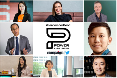 Power List 2020: Asia-Pacific's 50 most influential and purposeful marketers
