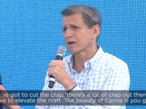 Industry needs to 'cut the crap': The Economist at Cannes