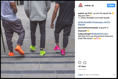 Reebok awards social-media remit in six SEA markets